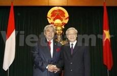 加强越南与印度尼西亚的全面合作关系