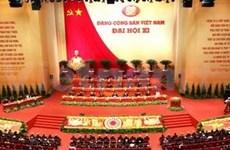 外国媒体高度评价越南党十一大