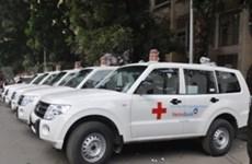 Vietinbank 积极参加社会慈善活动