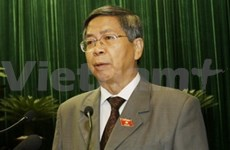 出席党第十一大代表强调高素质人力资源的培训问题