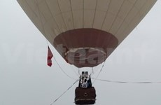 越南参加马来西亚热气球节