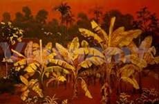 越南磨漆画展在中国北京举办