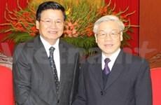 阮富仲总书记会见老挝特使通伦·西苏里