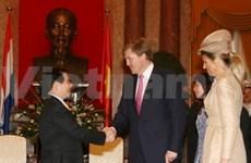 阮明哲主席会见现任荷兰王储威廉·亚历山大