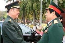 越南和中国加强国防关系