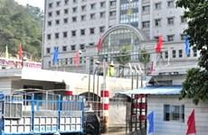 越南新青关口与中国浦寨关口连接道路完工