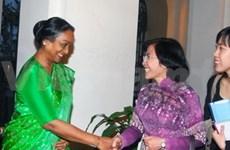 印度众议院议长访问胡志明市