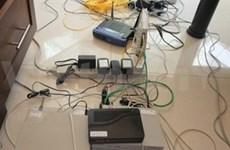 逮捕56名外国人使用高科技诈骗钱财