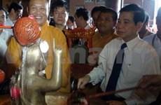 国家主席阮明哲出席2011年佛诞大典