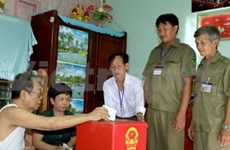 在选举期间安全稳定秩序井然