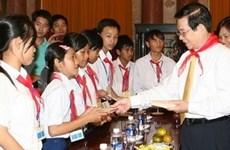 党和国家一直关注和为儿童创造最好条件