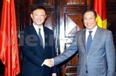 第44届东盟外长会议: 越南领导积极与各国领导举行双边会见