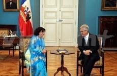 越南与智利即将签署自由贸易协定