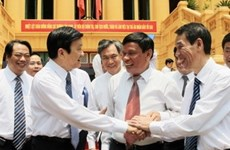 国家主席张晋创与最高人民法院举行工作会议