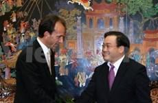 政府副总理黄忠海会见德国黑森州全权部长Michael Boddenberg