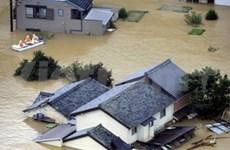 日本遭到塔拉斯台风袭击导致100多人死亡和失踪