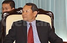 越共代表团出席在南宁举行的亚洲政党专题会议