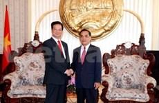 政府总理阮晋勇对老挝进行正式友好访问
