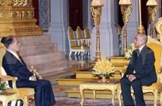 越南国会主席阮生雄访问柬埔寨的系列活动