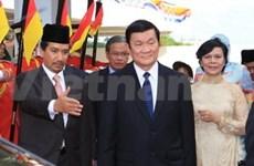 国家主席张晋创:越南希望加强同马来西亚的关系