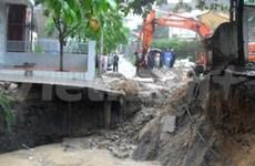 五号台风袭击越南多个省份造成严重损失