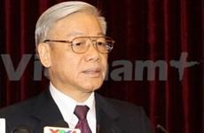 越共中央总书记阮富仲开始对中国进行正式访问