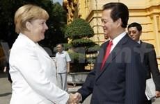 越南与德国共同发表《河内联合声明》