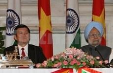越南与印度加强全面合作关系