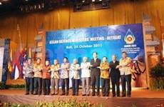 越南对东盟国防部长封闭式会议作出积极贡献