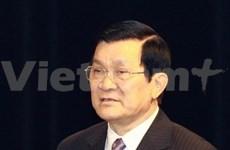 国家主席张晋创对菲律宾进行国事访问