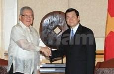 越南国家主席圆满结束对菲律宾的国事访问
