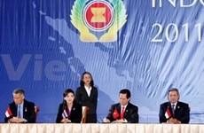 努力有效落实建设东盟共同体各项目标
