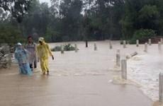 越南中部一些省份再一次发生洪水