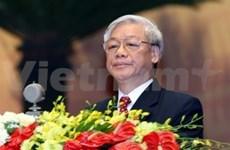 越共中央总书记阮富仲对柬埔寨进行友好国事访问