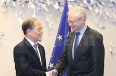 国会主席阮生雄访问比利时和欧洲议会圆满结束
