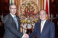 越墨国会加强合作增进两国传统友谊