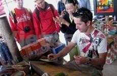 赴越外国游客趋向公布会在河内举行