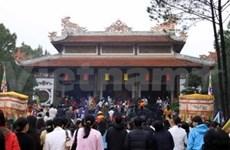 2012年玄珍庙庙会在顺化举行