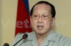 柬埔寨副首相贺南洪访问中国
