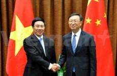 越南外长范平明访问中国