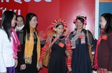第十一届越南全国妇女代表大会落下帷幕