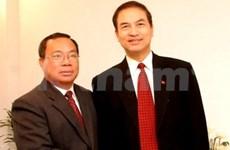 """越南和老挝联合举办""""越老特殊关系""""知识竞赛"""