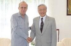 越南与古巴加强友好合作关系