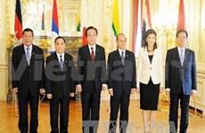 第四届湄公河—日本高峰会通过了《东京战略》