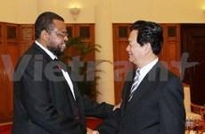 苏丹希望与越南扩大信息技术领域的合作