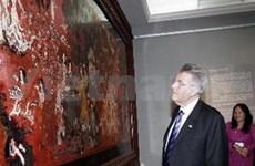 奥地利总统圆满结束对越南的访问