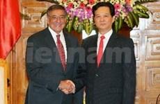 越南政府总理阮晋勇会见美国国防部长帕内塔