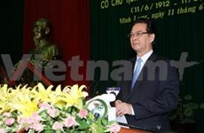 越南已故部长理事会主席范雄诞辰100周年纪念仪式在永隆省举行