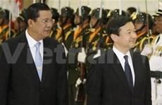 日本与柬埔寨加强合作