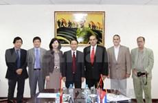 越南通讯社与拉丁美洲通讯社加强合作